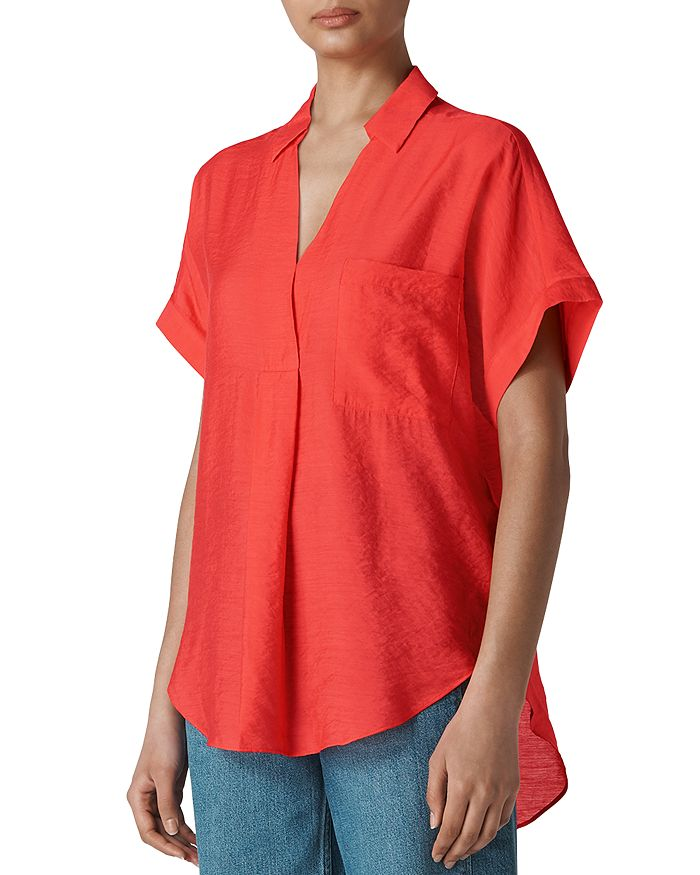 Whistles - Lea Smock Top