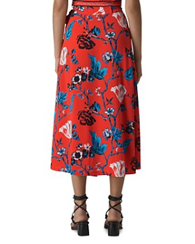 Whistles - Scarf Print Wrap Skirt