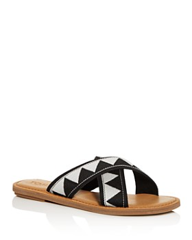 TOMS - Women's Viv Crisscross Slide Sandals