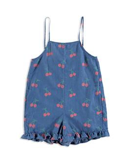 Stella McCartney - Girls' Cherry Print Romper - Little Kid, Big Kid