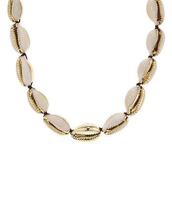 """AQUA - Shell Necklace, 13"""" - 100% Exclusive"""
