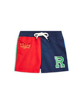 Ralph Lauren - Boys' Color-Block Traveler Swim Trunks - Baby