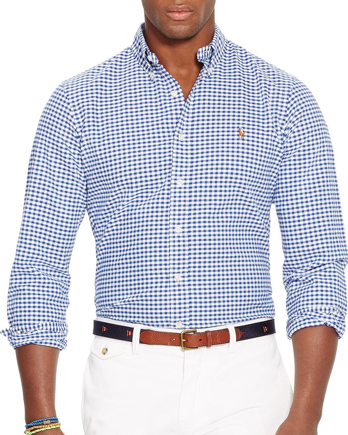 Polo Ralph Lauren - Gingham Slim Fit Button-Down Shirt
