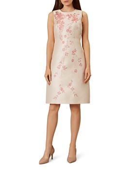 HOBBS LONDON - Melody Floral Jacquard Dress