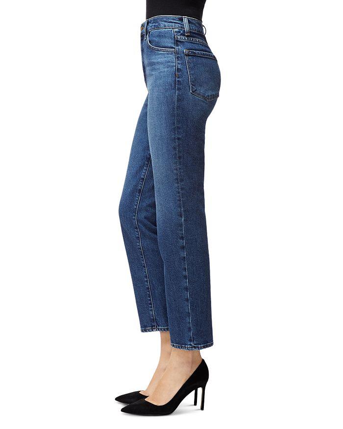 ae259ba382 J Brand Jules High-Rise Straight Leg Jeans in Metropole | Bloomingdale's
