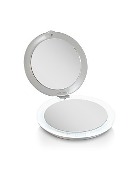 Zadro - Ultimate LED Lighted Compact Mirror with 1X/10X Magnification