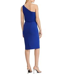 Ralph Lauren - One-Shoulder Chiffon Dress