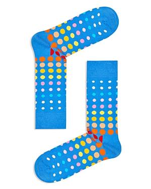 Happy Socks Faded Disco Dot Socks