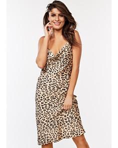 Bardot - Leopard Print Slip Dress