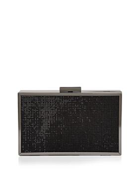 AQUA - Beaded Box Frame Clutch - 100% Exclusive
