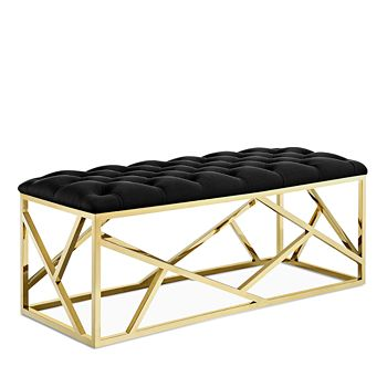 Modway - Intersperse Gold Bench