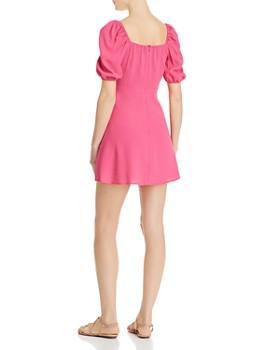 Flynn Skye - Shaylee Puffed-Sleeve Mini Dress