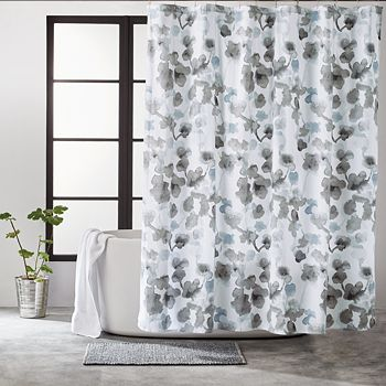 "DKNY - City Bloom Shower Curtain, 72"" x 72"""