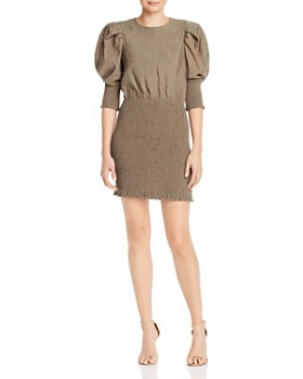 Rebecca Minkoff - Geneva Smocked Mini Dress