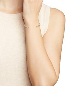 Nadri - Sterling Villa Open Cuff Bracelet in 18K Gold-Plated Sterling Silver
