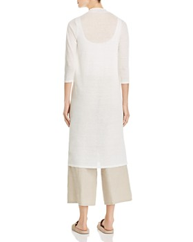 Eileen Fisher Petites - Open-Front Duster Cardigan