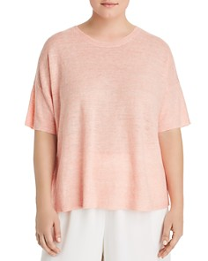 Eileen Fisher Plus - Organic Linen Sweater