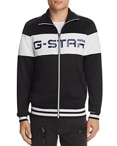 G-STAR RAW - Alchesai Logo-Print Slim Fit Track Jacket
