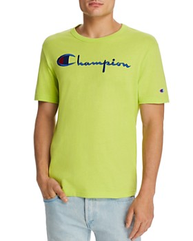 688be5920 Champion Reverse Weave - Embroidered-Logo Basic Tee
