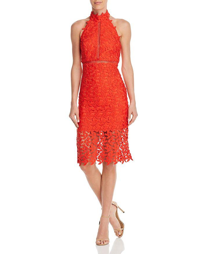 Gemma Open Back Lace Dress