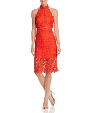 BARDOT | Bardot Gemma Open-Back Lace Dress | Goxip