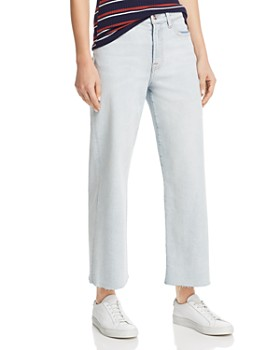 7 For All Mankind - Alexa Cropped Jeans in Luxe Vintage Cloud