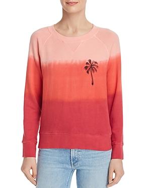 Mother T-shirts THE SQUARE DIP-DYE SWEATSHIRT