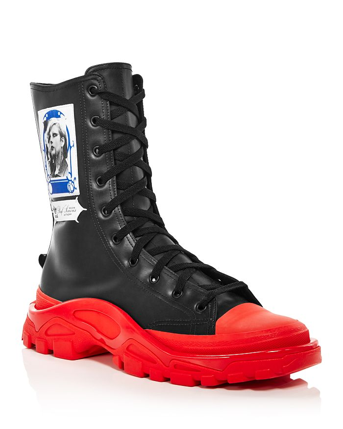Raf Simons for Adidas - Women's Detroit High-Top Sneakers