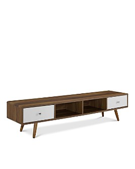 """Modway - Transmit 70"""" Media Console Wood TV Stand"""