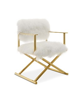 Modway - Action Fur Accent Director's Chair