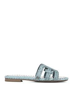 Sam Edelman - Women's Beckie Woven Slide Sandals
