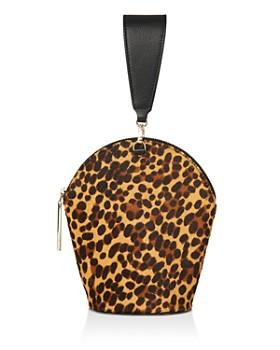 Whistles - Leonard Leopard Wristlet