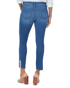 NYDJ - Ami Tape-Detail Ankle Jeans in Ladera