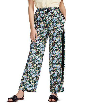 Maje - Prague Floral-Print Pants