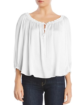 724805fe36f9a Bailey 44 - Ethereal Peasant Top ...