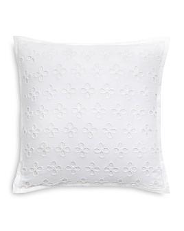 "kate spade new york - Oversized Eyelet Decorative Pillow, 16"" x 16"""