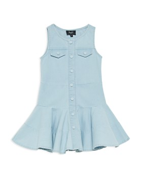 Bardot Junior - Girls' Alice Denim Flared Dress - Big Kid