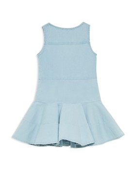 Bardot Junior - Girls' Girls' Alice Denim Flared Dress  - Little Kid
