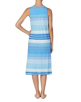 Ralph Lauren - Lauren Ralph Lauren Striped Sleep Gown