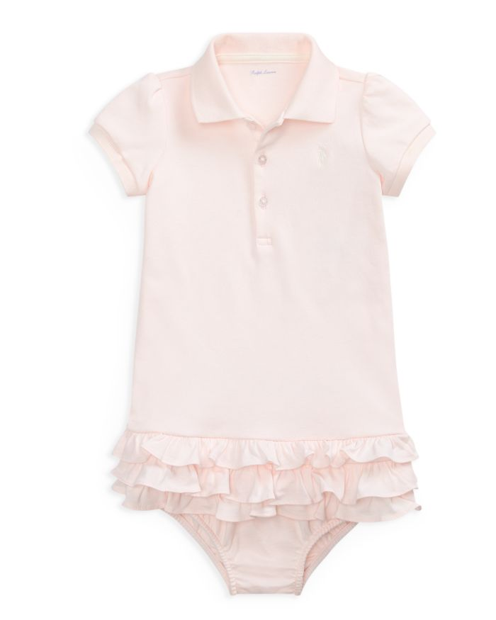 Ralph Lauren Girls' Cupcake Dress & Bloomers Set - Baby  | Bloomingdale's