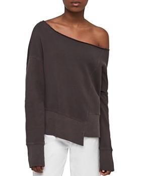 ALLSAINTS - Lando One-Shoulder Sweatshirt
