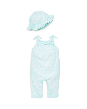 Little Me - Girls' Island Overall & Sun Hat Set - Baby