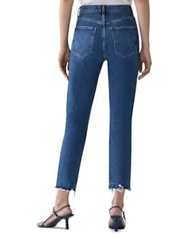 AGOLDE - Riley Crop Straight Jeans in Veto