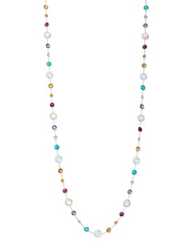 IPPOLITA - Sterling Silver Lollipop Multi-Gemstone Lollitini Long Beaded Necklace, 36""