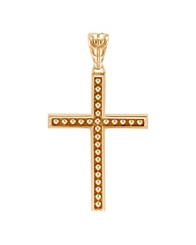 JOHN HARDY - 18K Yellow Gold Classic Chain Jawan Cross Pendant