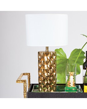 8 Oak Lane - Geometric Table Lamp