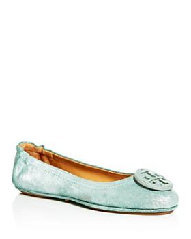 6b840d023a3 Tory Burch - Women s Minnie Travel Ballet Flats ...