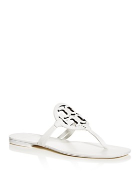 295f5d90f6 Tory Burch - Women's Miller Square-Toe Thong Sandals ...