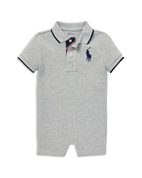 bb5296718 Ralph Lauren - Boys' Cotton Mesh Polo Shortall - Baby ...