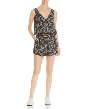 Scotch & Soda - Botanical-Print Romper